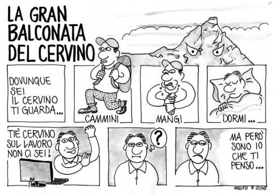 La Gran balconata del Cervino - Ranfo 07.2016