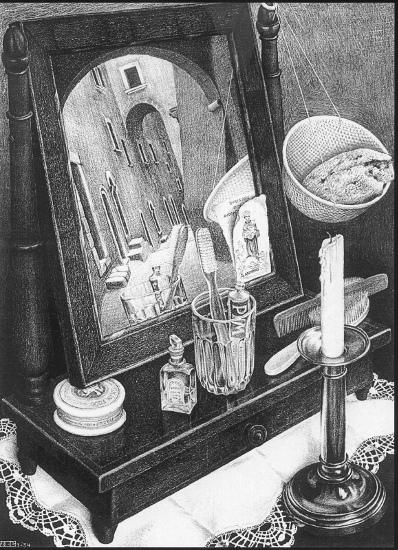 Natura Morta con Specchio
